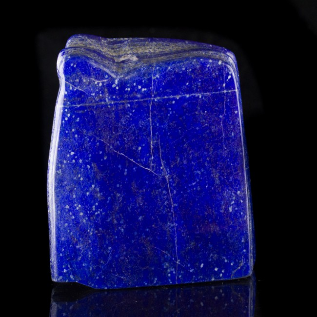 """4.8"""" Royal Blue LAPIS LAZULI Rich Colorful Polished Section Afghanistan for sale"""