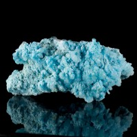 "4.4"" BLUE ARAGONITE Gemmy Crystal Formations Rich Turquoise Color China for sale"