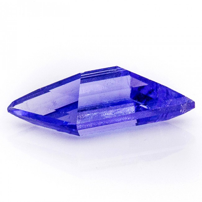 6mm .35ct Blue TANZANITE Gemstone Untreated Pentalope Cut VS1 Tanzania
