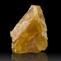 """2.1"""" Orange SCHEELITE Sharp Octahedral Crystal Fluoresces Blue China for sale"""