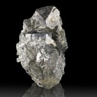 """2.6"""" SKUTTERUDITE Brilliant MetallicSilver Sharp Crystals to 1"""" Morocco for sale"""