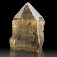 "2"" Gem CITRINE QUARTZ CRYSTAL Golden Yellow Sharp Termination Zaire for sale"