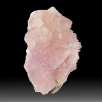 "1.8"" Pretty Rosy Pink Gemmy ROSE QUARTZ Rare Terminated Crystals Brazil for sale"