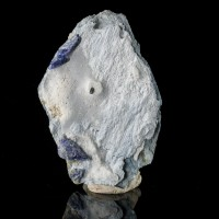 3mm Sharp DJURLITE Crystal w/Royal Blue BENITOITE on Matrix California for sale