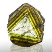 "6.1"" 183g MultiNested Triangles LIDDICOATITE TOURMALINE Madagascar 1948 for sale"