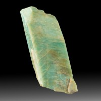 "3.1"" AMAZONITE Crystal Light Turquoise Carlsbad Law Twin Colorado 1960 for sale"