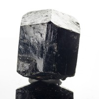 "2.1"" Double-Terminated Trigonal BLACK TOURMALINE Schorl Crystal Namibia for sale"