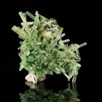 "3.8"" Fine Flashy Gemmy GREEN SELENITE Crystals to .8"" Lubin Mine Poland for sale"