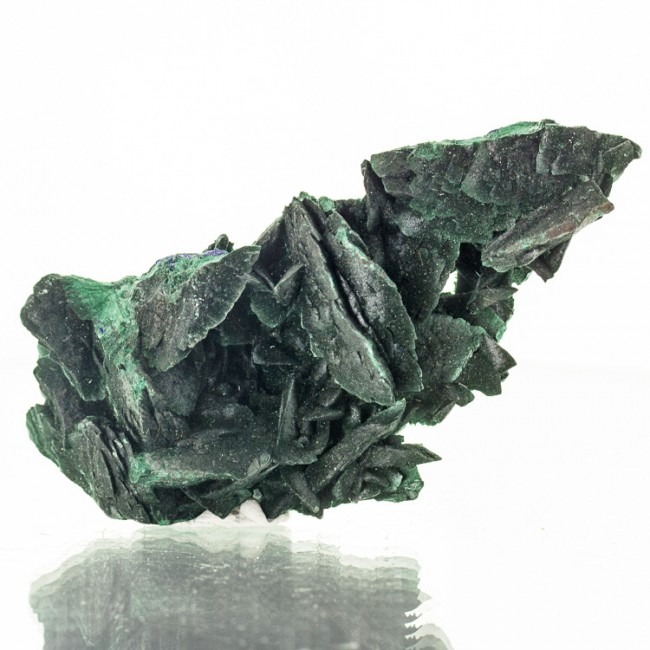 """4.2"""" Pseudomorphs of MALACHITE after AZURITE Crystal to 1.3"""" Milpillas for sale"""