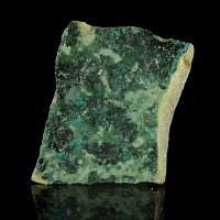 "5.4"" ATACAMITE Sharp Sparkling CrayonGreen Crystals on Matrix Australia for sale"
