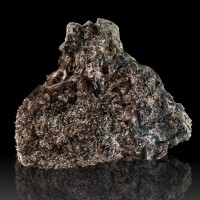 "3.4"" Shiny Sharp Wedge-Shape Dark Brown AXINITE CRYSTALS on Matrix Peru for sale"