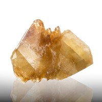 "7.4"" Orange Tipped Golden CALCITE Crystals Double Terminated Elmwood TN for sale"