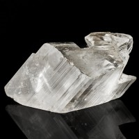 """5"""" Shiny Water Clear Single SELENITE Crystal Sharp & Transparent Mexico for sale"""
