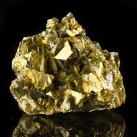 "2.7""  Metallic Golden CHALCOPYRITE +SIDERITE Sharp Shiny CrystalsChinafor sale"