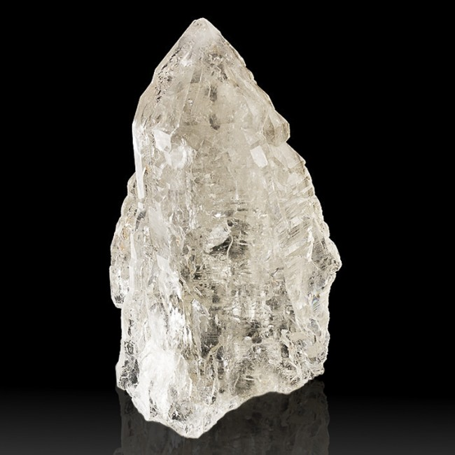 """4.9"""" Lightbrary CATHEDRAL QUARTZ Crystal Clear Lustrous & Gemmy Brazil for sale"""