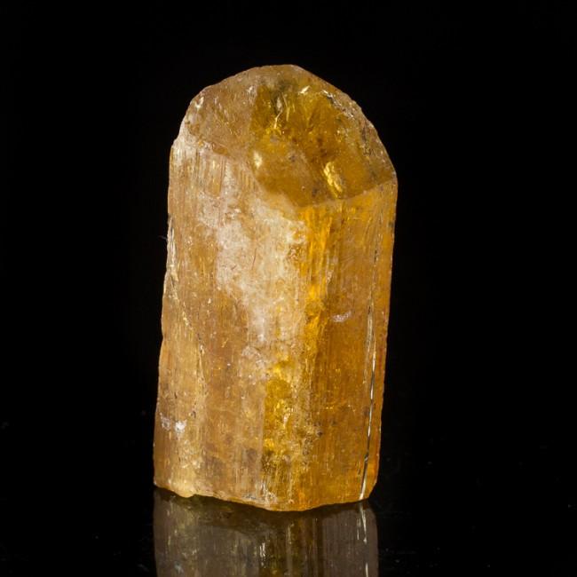 """1.4"""" Gem IMPERIAL TOPAZ Terminated Golden Orange Crystal 205ct Brazil for sale"""