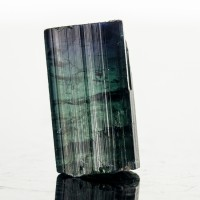".7"" 19.9ct DeepTealBlue INDICOLITE TOURMALINE Terminated Crystal Brazil for sale"