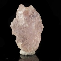 "2.2"" 255ct Colorful Vibrant Pink Gemmy MORGANITE Etched Crystal Brazil for sale"