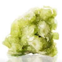 """2"""" Gemmy Green VESUVIANITE Flash Sharp Bright Crystals Asbestos Quebec for sale"""