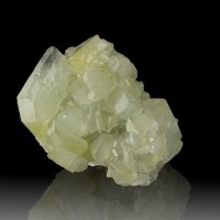 "2.7"" Flashing Pale Green+Yellow DATOLITE Sharp Gemmy Crystals Mexico for sale"