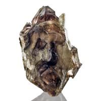 "3.4"" SCEPTERED SMOKY QUARTZ DoubleTermnated Crystal Hallelujah Junction for sale"