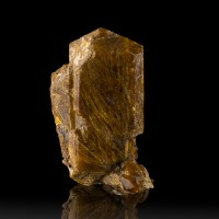 "1.3"" Root Beer Brown UVITE TOURMALINE Sharp Terminated Crystal SW UV NY for sale"