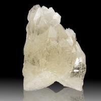 "4.4"" WaterClear Gem CATHEDRAL QUARTZ LIGHTBRARY Pristine Crystal Brazil for sale"