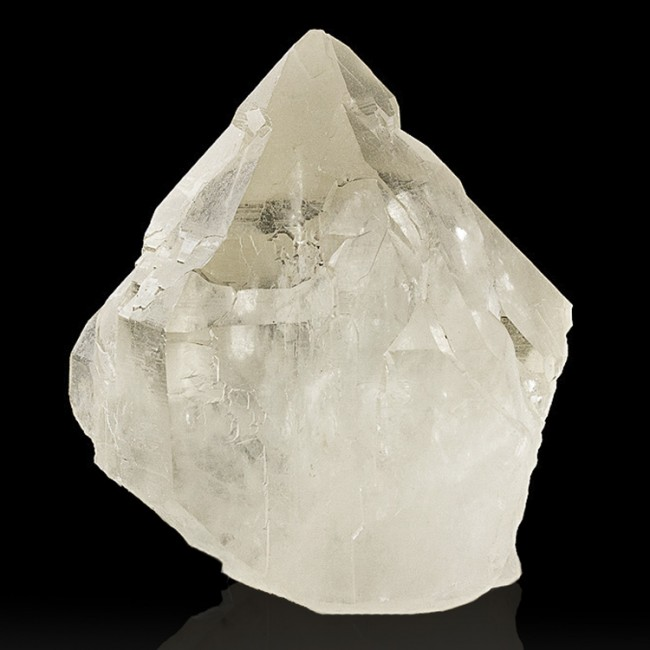 """4.1"""" Gemmy CATHEDRAL QUARTZ Crystal Clear Lightbrary Formation Brazil for sale"""