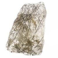 "4.8"" TOURMALINATED QUARTZ Green Needle Crystals in Clear Quartz Brazil for sale"