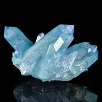 """3.5"""" Double Terminated Turquoise Crystals of AQUA AURA QUARTZ Arkansas for sale"""