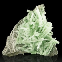"5.9"" Spiky Bristly Icy Green ADP Ammonium Phosphate Lab Grown Crystals for sale"