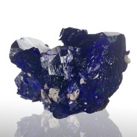 "1.3"" BoldBlue Brilliant Flashy Luster AZURITE Crystals Milpillas Mexico for sale"