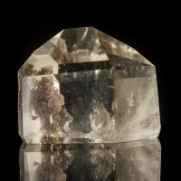 "2.3"" Water-Clear Polished Gem PHANTOM QUARTZ Terminated Crystal Brazil for sale"