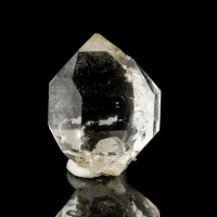 "1.3"" Water-Clear HERKIMER DIAMOND Quartz Crystal Hickory Hill Fonda NY for sale"