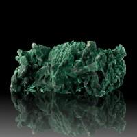 "3.9"" VividGreen MALACHITE PSEUDO AZURITE Sharp Crystals MilpillasMexico for sale"