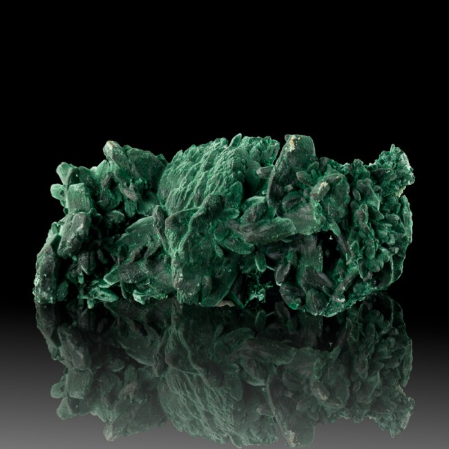 "3.9"" VividGreen MALACHITE PSEUDO AZURITE Sharp Crystals MilpillasMexico for sale"