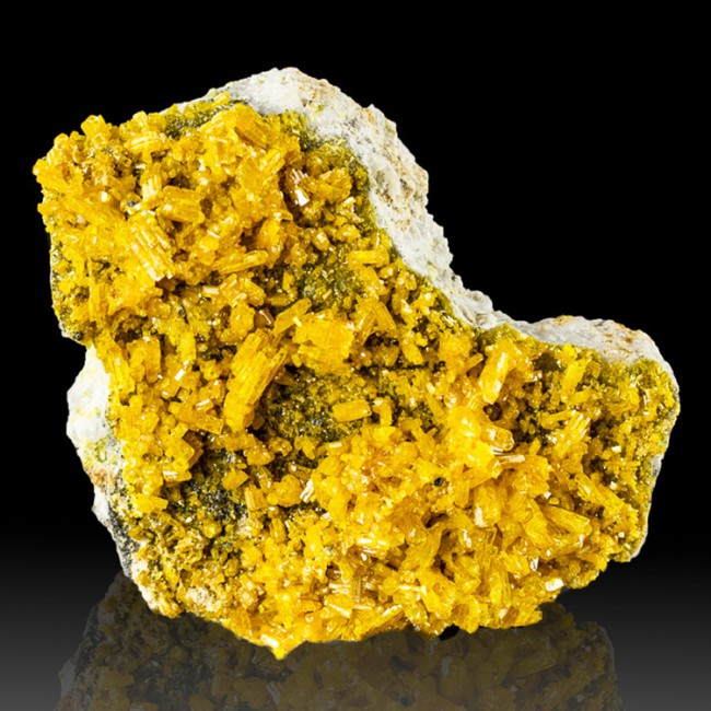 """2.6"""" Golden Yellow MIMETITE Flashy Luster Terminated Crystals Thailand for sale"""