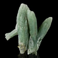"2.1"" Moss Green PRASE QUARTZ Terminated Crystals Serifos Island Greece for sale"