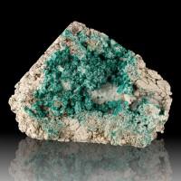 "6.9"" Dark Green DIOPSIDE CRYSTALS in Matrix w/Calcite D.R.Congo for sale"
