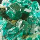 "2"" Sharp Shiny Dark Green Gem DIOPTASE Crystals to .6"" on Matrix Congo for sale"