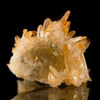 """2.7"""" Brightly Colored TANGERINE QUARTZ Pristine Crystals to 1"""" Morocco for sale"""