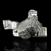 """2.4"""" Sharp Shiny Silver Cogs-Wheel BOURNONITE Crystals Bolivia 2015 for sale"""