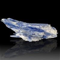 "6.4"" Bright Blueberry Blue KYANITE Big Lustrous Crystals +Quartz Brazil for sale"