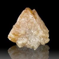 """2.4"""" Sharp Orange SCHEELITE Octahedral Crystal Fluoresces Blue China for sale"""