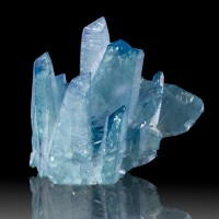 "3.2"" Bright and Lustrous AQUA AURA QUARZ Crystals SharplyTerminated ARK for sale"