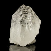 "2.1"" All Gem Water Clear CATHEDRAL QUARTZ with Wet Look Luster Brazil for sale"