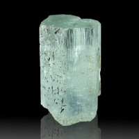 "1"" 48ct Clear Sapphire Blue Terminated Gem AQUAMARINE CRYSTAL Namibia for sale"