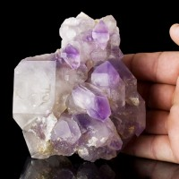 "5.2"" Purple AMETHYST with Multiple Scepters & Terminated Crystals Kenya for sale"