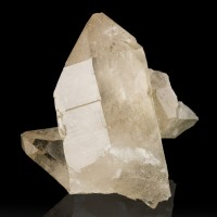 "2"" Gem Clear SMOKY QUARTZ Sharp Lustrous Terminated Crystal France for sale"