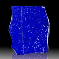 "5.9"" 2.2LB Deep Rich Azure Blue Color Polished LAPIS LAZULI Afghanistan for sale"